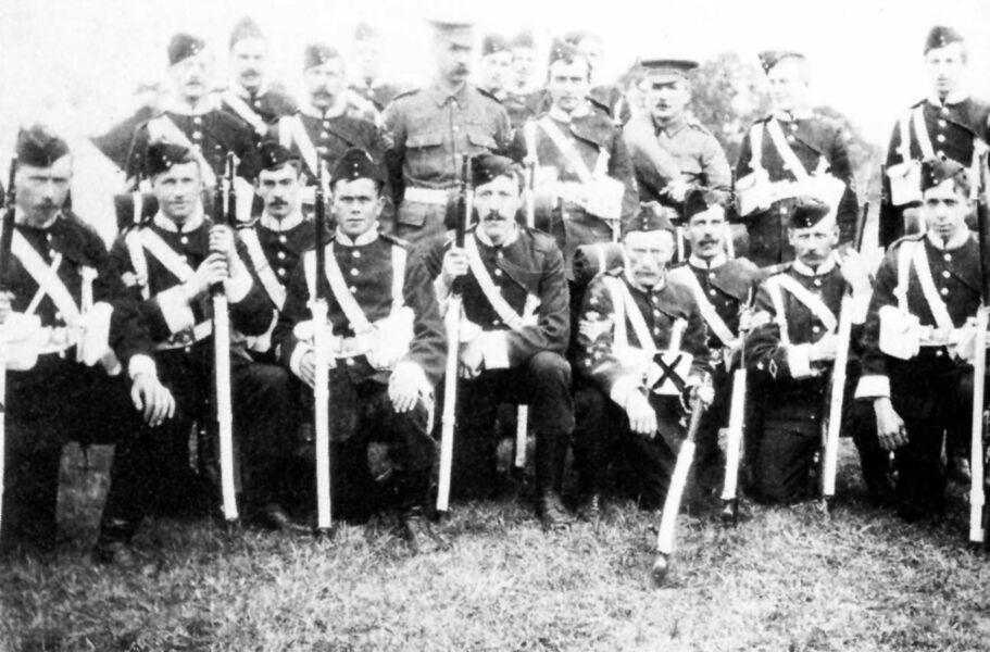 2nd Volunteer Battalion (Kirkby Lonsdale Company) 1905.jpg