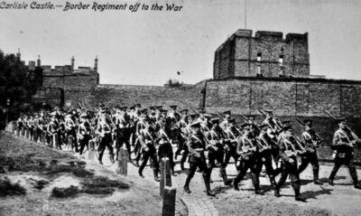 Border Regiment Marching off to War.jpg