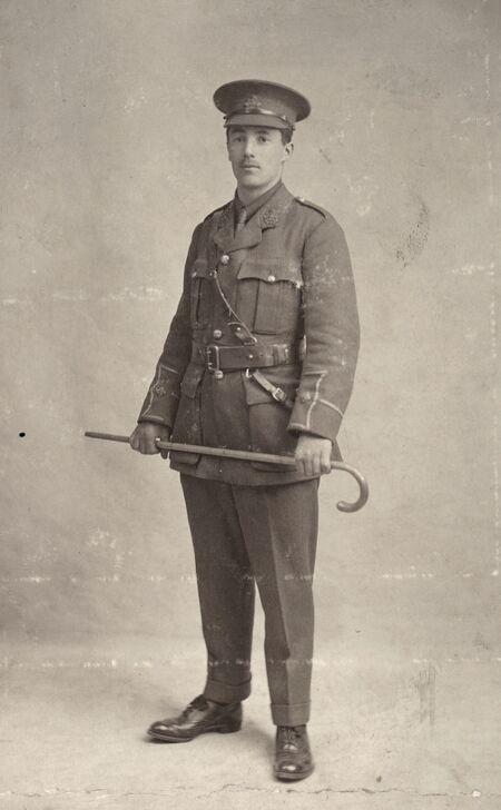 Adam Fulton, April 1915